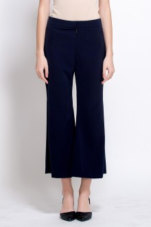 Bella Cropped Pants - Navy