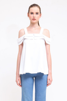 White Arka Top