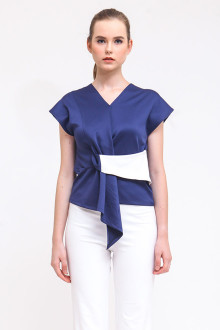 Avera Top - Navy Blue