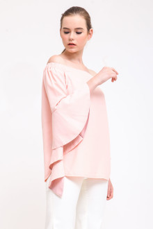 Peach Avenor Top