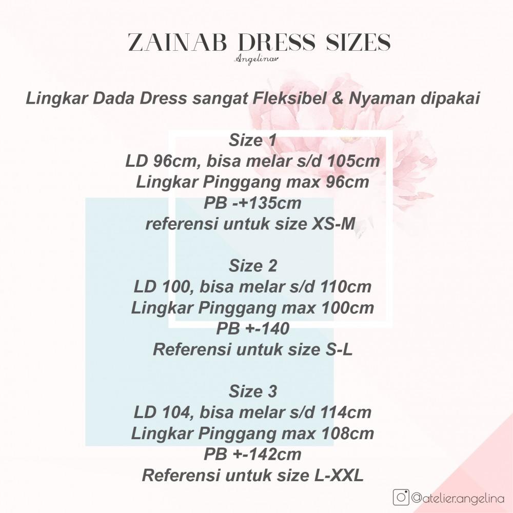 Zainab Dress Rosewood