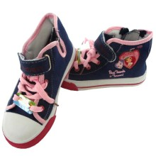 Disney Sepatu Canvas Highcut Lam Strawberry