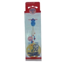 Pigeon TRAINING TOOTHBRUSH L-1 LIGHT BLUE