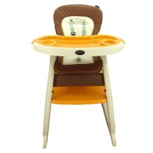 High Chair Pliko HC505 2in1 (Kursi Makan & Meja Belajar) - BEIGE