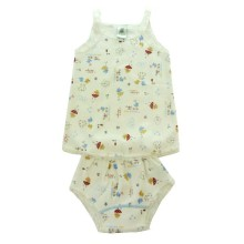 BABYLON - Setelan Singlet Renda+Cln Sg3-perfect weather- size 3-12 month
