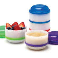 Dr.Brown's Snack-A-Pillar™ Stackable Snack & Dipping Cups