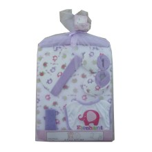 Baby Set Jala luar - Elephant (Purple) - 6in1