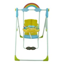 Pliko Deluxe Baby swing Toy Tray Pk-707 Blue+Yellow