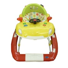 Pliko Baby Walker 3000T - Yellow+Red