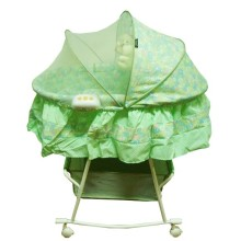 Pliko Baby Bed / Baby Craddle PK 608 AN - Green