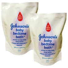 Johnson's Bedtime Bath Refill 400ml isi 2pcs (R)