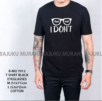 TSHIRT DISTRO BLACK EYEGLASSES 7012