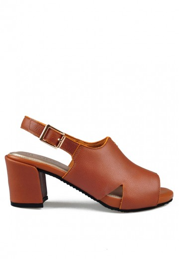 Chloe Heels Sandals Brown