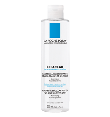 LA ROCHE-POSAY Effaclar Micellar Water For Oily Sensitive Skin (200ml) image
