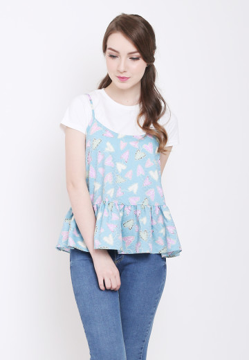 Asti Top in Blue image