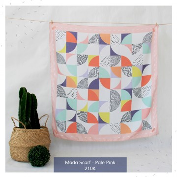 Mada Scarf Pale Pink