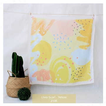 Livia Scarf Yellow