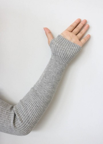 Handsock Thumbhole Light Grey