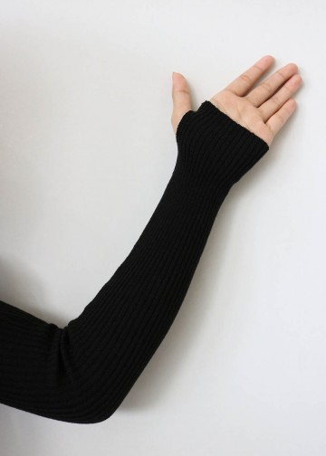 Handsock Thumbhole Black