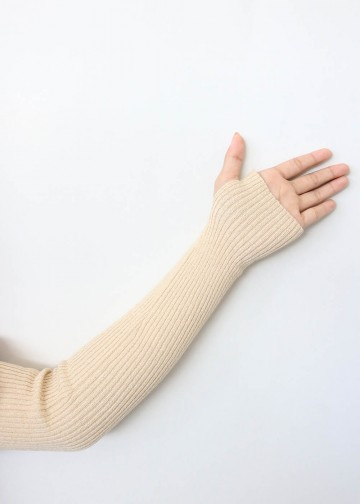 Handsock Thumbhole Cream