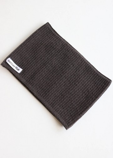Head Band Plain Dark Grey