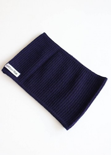 Head Band Plain Navy