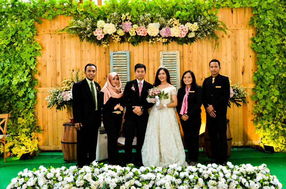 WEDDING MITHA DAN NANANG 1