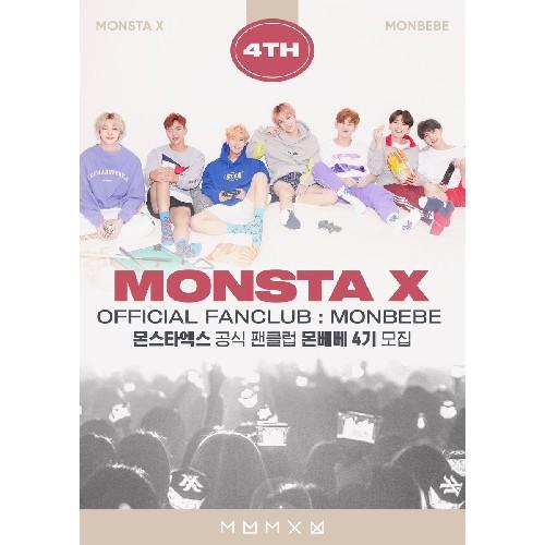 MONSTA X OFFICIAL FAN CLUB 'MONBEBE' 4th GENERATION