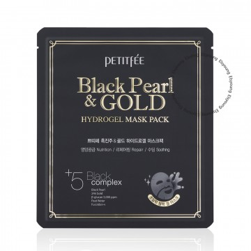 PETITFEE Black Pearl & Gold Hydrogel Mask