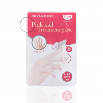 KOELF Pink Nail Treatment Pack