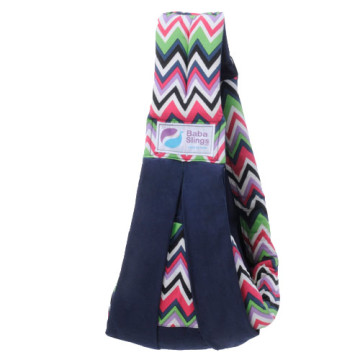 Baba Slings Others - Deep Zig Zag Navy image