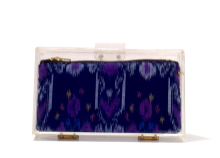 Basic Perspex Clutch - IKAT