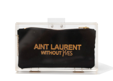 Basic Perspex Clutch - Laurent