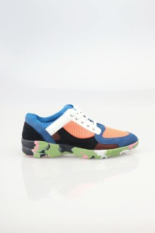 Blue Oddysey Neon Multicolor Sneakers