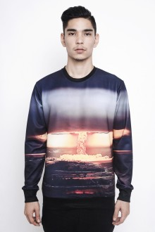 Black Atomic Sweatshirt