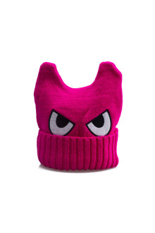 Pink Monster Beanie