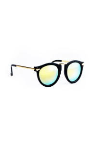 Yellow Lense Bold Arrow Sunglasses