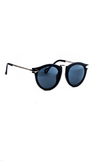 Black Lense Bold Arrow Sunglasses
