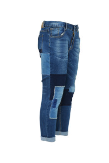 Blue Patch Jeans