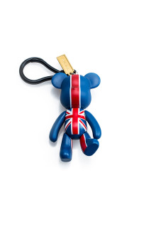 Union Jack Bear Keychain
