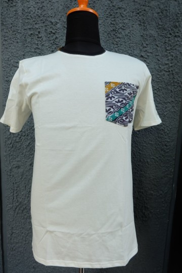 Althaf Pocket Tee White image