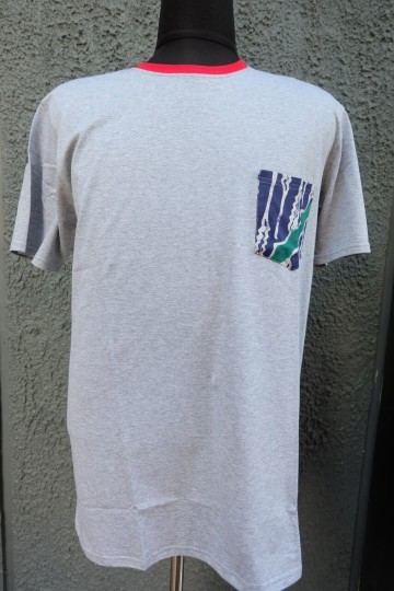 Althaf Pocket Tee Grey image