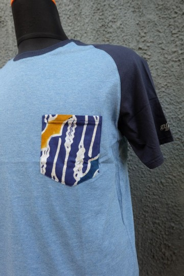 Althaf Pocket Tee Dark Blue image