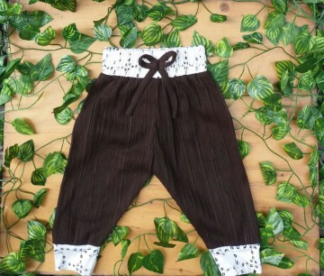 Amelia Pants Brown image