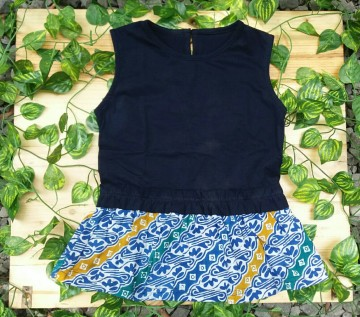 Assyfa Dress Dark Blue image