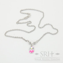 KL00033 Kalung Anak Bandul Hello Kitty
