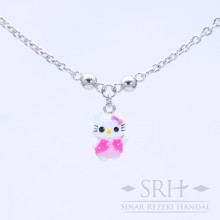 KL00040 Kalung Anak Bandul Hello Kitty