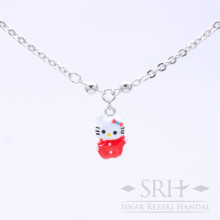 KL00044 Kalung Anak Bandul Hello Kitty