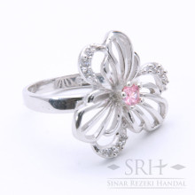 CC00188 Flower Pink Ring