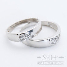 CC00189 Cincin Couple Love Hati
